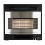 Curvascape Timer gas fire